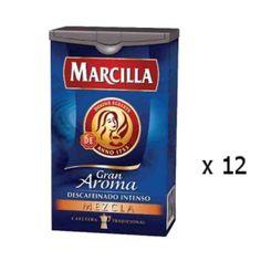 Café moulu décaféiné mélange 200 Grs - Marcilla - Lot 12