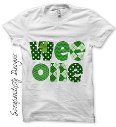 Irish Iron on Transfer - St Patricks Day Iron on / Green Celtic Baby Bodysuit / Kids Boys Clothing Tshirt / St Patricks Day Shirt IT187 on Etsy, $2.50