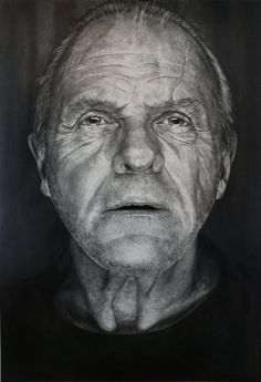 the amazing sir Anthony Hopkins Face Men, Male Face, Black And White Portraits, Black And White Photography, Fotografia Pb, Sir Anthony Hopkins, Old Faces, Hannibal Lecter, Foto Art