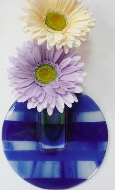 Fused Glass Bud Vase  A perfect Easter gift!