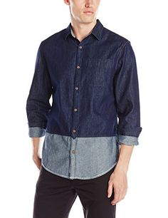 90b732df Dress Shirts, Men Clothes, Penguins, Color Blocking, Indigo, Suit Shirts,  Indigo Dye, Penguin, Men Wear