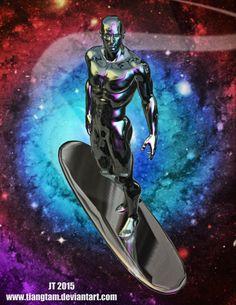 Silver Surfer by tiangtam on DeviantArt