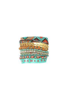 Bracelet Baya Vert Hipanema sur MonShowroom.com