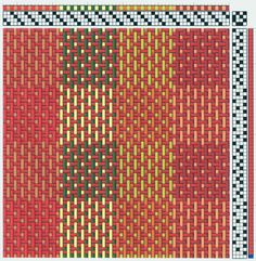 Several months ago, my weaving friend Sharon C. gave me this pattern. It is called taquete. She has been having all kinds of fun with it...