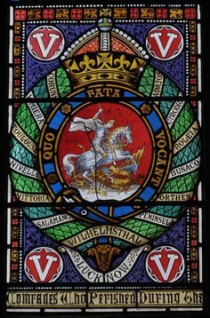 Northumberland Fusiliers Badge, St Nicholas's Cathedral, Newcastle.