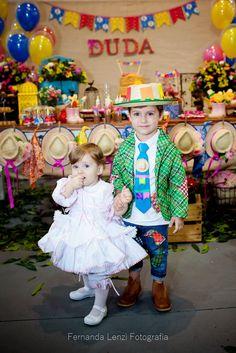 Frescurinhas Personalizadas: Festa Junina da Duda!!! Girl Birthday, Birthday Parties, Sewing Baby Clothes, Country Dresses, Harajuku, Costumes, Party, Diy, Cakes