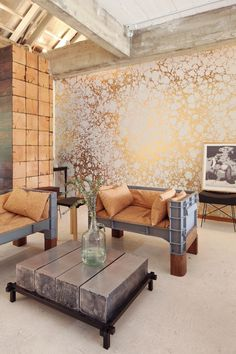 Pinpina Show Room - Wabi 1 - Calico Wallpaper
