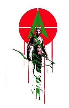 Green Arrow by Riley Rossmo