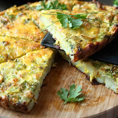 Egg and Potato Frittata Recipe Serves 4 Ingredients 8 extra-large eggs 2 tablespoons milk Salt ...
