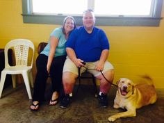 Steve And Sherry M From Blandon Pa With Hank Dog Training
