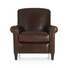 McAllister Leather Recliner  | Crate and Barrel $1999
