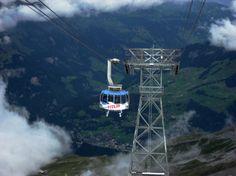 #Engelberg, #Switzerland #alps #view Engelberg Switzerland, Mount Titlis, Lets Get Lost, Free Travel, Golden Gate Bridge, Alps, Travel Photos, Europe, Steel