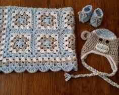 Crochet baby blanket crochet baby afghan granny square