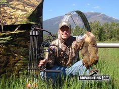 """With most of the best days for bowhunting big game now a distant memory, it's amazing how quick cabin fever can begin to set in. The """"off-season-bowhunting-blues"""" affects different hunters in different ways, and at different times. Varmint Hunting, Bowhunting, Hunting Tips, Camping Gear, Bushcraft, Archery, Survival, Games, Feathers"""