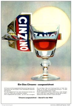 Original-Werbung/ Anzeige 1965 - CINZANO - ca. 160 x 230 mm