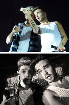 Okay. Niall is amazing at taking selfies, Liam is amazing at taking selfies. 2GOOD PEOPLW TAKING SELFIES! STOP!
