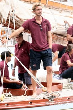 Asset Caption Pierre Casiraghi takes part in the Portofino Rolex Trophy yachting race People Pierre Casiraghi