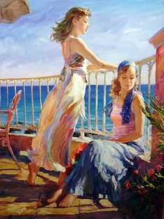 Gallery of artist Vladimir Volegov, portraits of very beautiful women. Woman Painting, Figure Painting, Oil Painting On Canvas, Painting & Drawing, Canvas Art, Artist Painting, Double Exposition, Ecole Art, Foto Art