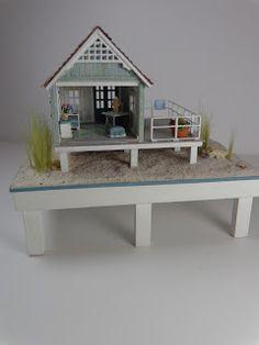 Miniature Miniatures - Nell Corkin: The Beach House