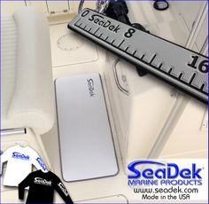 "This week we're giving away a Seadek Helm Station Pad and Fish Ruler Prize Pack and we'll even throw in a SeaDek shirt. Just ""like"" this post on our FaceBook page (https://www.facebook.com/SeaDek) and you'll entered to win. Like our page and repost this for additional opportunities to win. Thanks and good luck!  Drawing will be Friday afternoon."