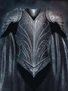 Thranduil [Armour and Costume : Upper Body ], Helena Shin on ArtStation at https://www.artstation.com/artwork/thranduil-armour-and-costume-upper-body