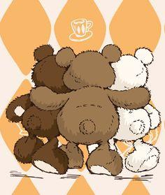 NICI: Classic Bears:)