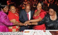 Zuma & his Wive's