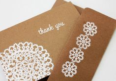 Thank+You+Card+set+of+10+Kraft+Thank+You+Cards+by+SweetSights,+$13.98