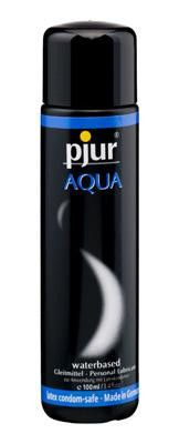 """Pure pleasure. Pjur AQUA. Our premium water-based lubricant. The quality speaks for itself. The """"Excellent"""" rating given by """"Stiftung Warentest"""", an independent"""
