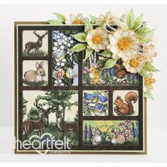 Heartfelt Creations - Woodsy Memories Card Project