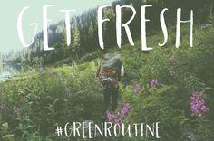 #GreenRoutine #VertBeauty