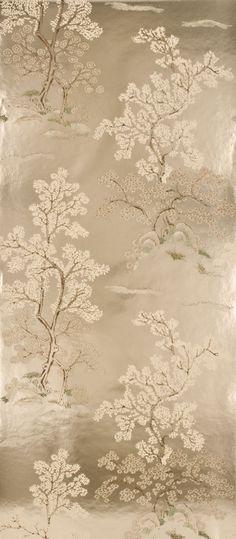 Chinoiserie Wallpaper found on InsideWallpaper.com