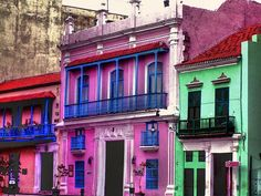 cuban decay #pink #architecture