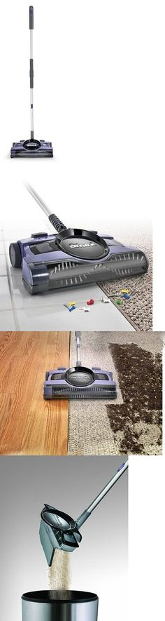 carpet and floor sweepers shark 13 rechargable floor and carpet sweeper v2950 - Shark Sweepers