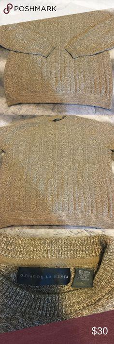 Men's Oscar De La Renta Sweater Size L / No signs of Wear at all Oscar de la Renta Sweaters Crewneck