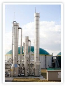 Biogas Purification Plant Mobil Oils and Lubricants are supplied in the UK by Chemical Corporation (UK) Ltd www.chemcorp.co.uk