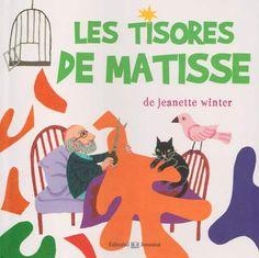 """WINTER, Jeanette. """"Les Tisores de Matisse"""". Barcelona : Joventut, 2014. ISBN 9788426140340"""
