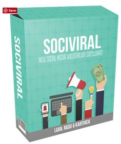 SociViral is a revolutionary cloud based app that will mass automate everything for you and get you what matters: Results! Drive your traffic, leads, and sales on complete autopilot, hands-free! leads and sales on complete autopilot, hands-free! Viral Marketing, Inbound Marketing, Marketing Tools, Business Marketing, Content Marketing, Internet Marketing, Online Marketing, Social Media Marketing, Online Business