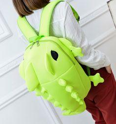 Students kawaii cartoon backpack