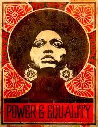 60s poster art/angela davis