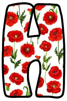 Buchstabe - Letter H Alphabet Style, Alphabet And Numbers, Letter Templates, Poppies, Christian, Stickers, Scripts, Fonts, Glass