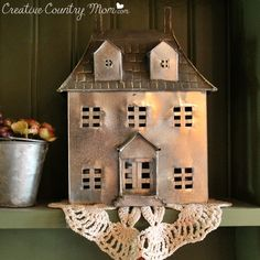Creative Country Mom's Vintage Home and Garden: Mad about Country Plaids!