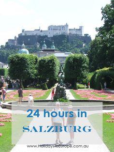 24 hours in Salzburg