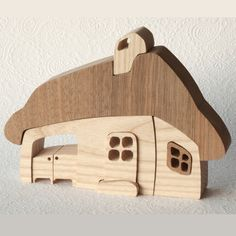 Architectural Wooden Toy - Cottage