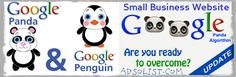 """""""5 Things to Do to Recover from Google #Penality from Panda/Penguin Algorithm #Updates""""  Adsolist Viral Media #Google"""