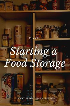 A Food, Food And Drink, Emergency Food Supply, Canned Food Storage, Long Term Food Storage, Food Stamps, Frugal Living Tips, Disaster Preparedness, Canning Recipes