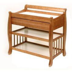 """Stork Craft Heather Changing Table - Cherry - Storkcraft - Babies """"R"""" Us Changing Table With Drawers, Changing Table Topper, Baby Changing Tables, Dressing Table Oak, Dressing Table With Drawers, Nursery Furniture, Wood Furniture, Nursery Room, Girl Nursery"""