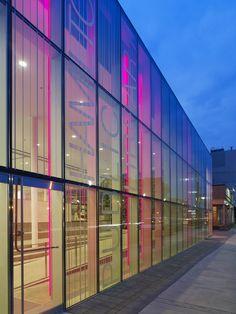 Hamilton Public Library - exterior Photography by Tom Arban