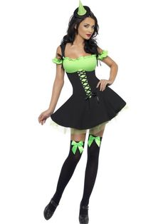 Fever Wicked  Witch Costume at funnfrolic.co.uk - £24.89