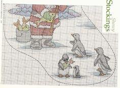 pere noel pingouins 3/4